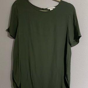 H&M short sleeve blouse